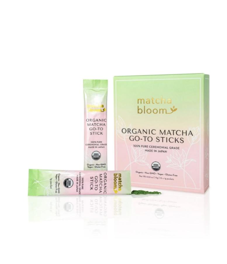 Matcha Bloom Matcha Go-To Sticks ($18)