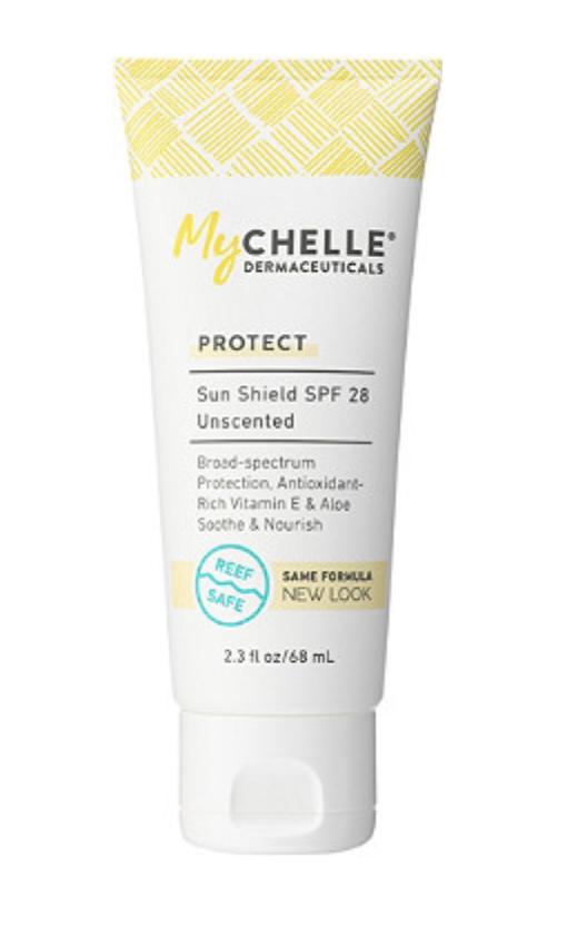 MyChelle Sun Shield SPF 28 ($22)