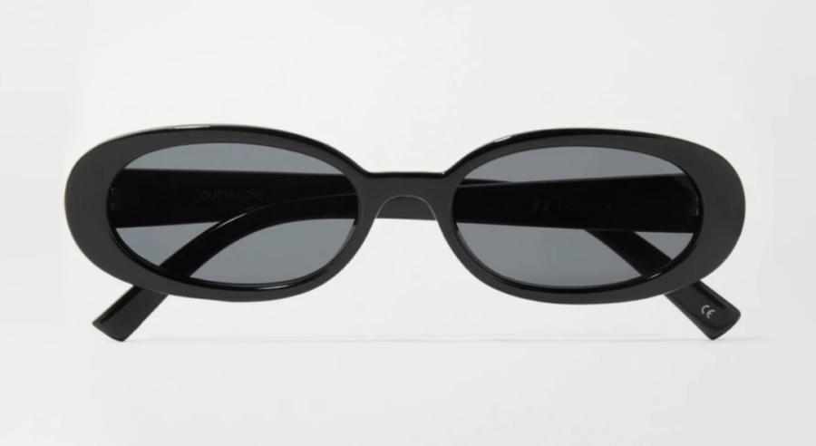 Outta Love oval-frame acetate sunglasses ($70)