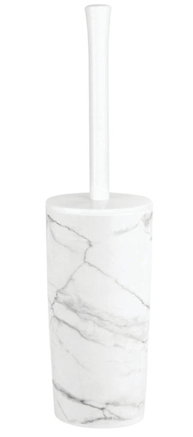 MDesign Plastic Toilet Bowl Brush and Holder ($11)