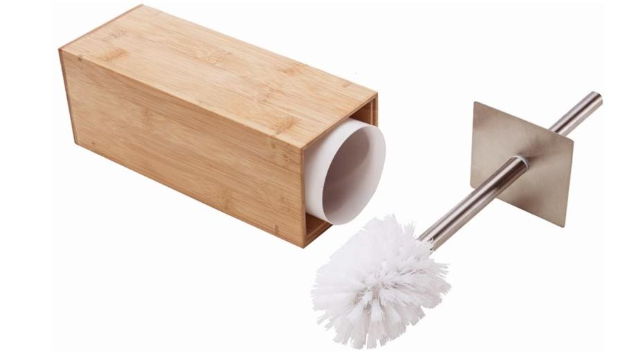 GoBam Toilet Brush and Holder ($23)
