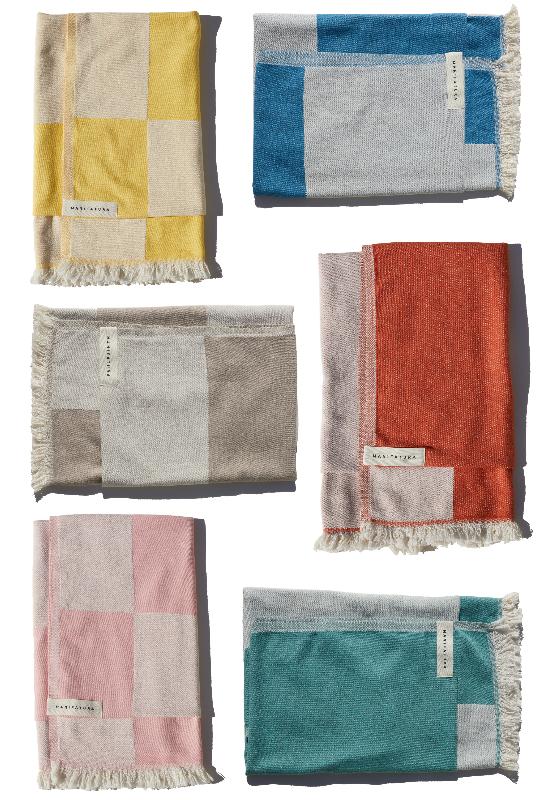 Manifatura Set Of 6 Beach Towels ($350)