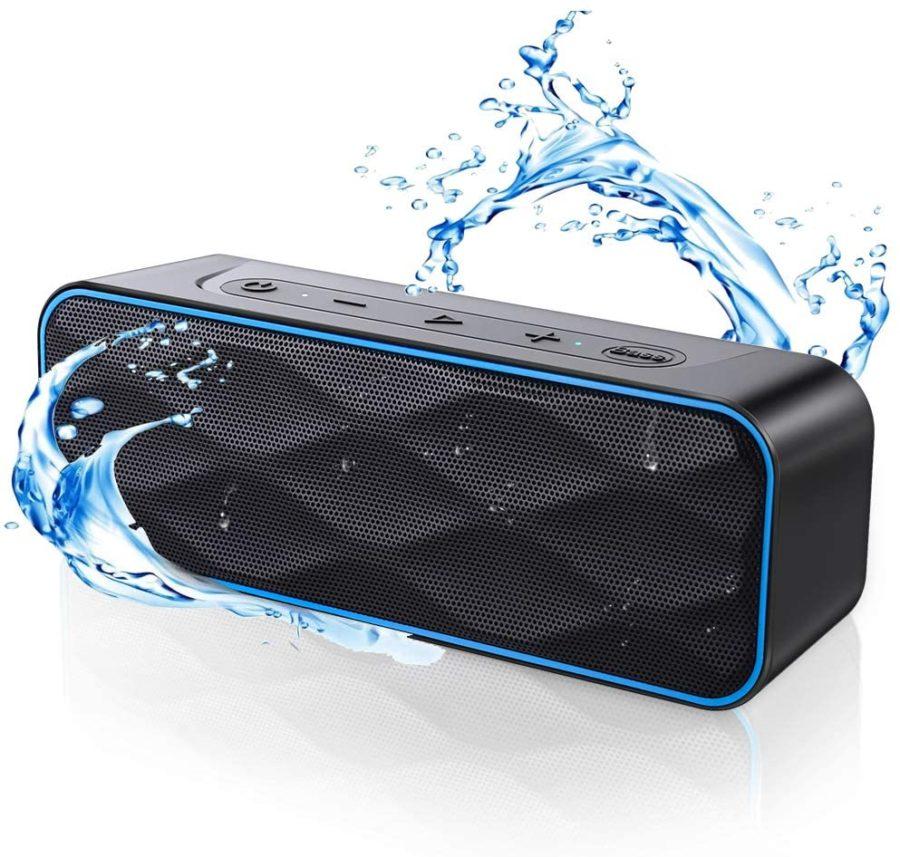 ZoeeTree Waterproof Bluetooth Speaker ($36)