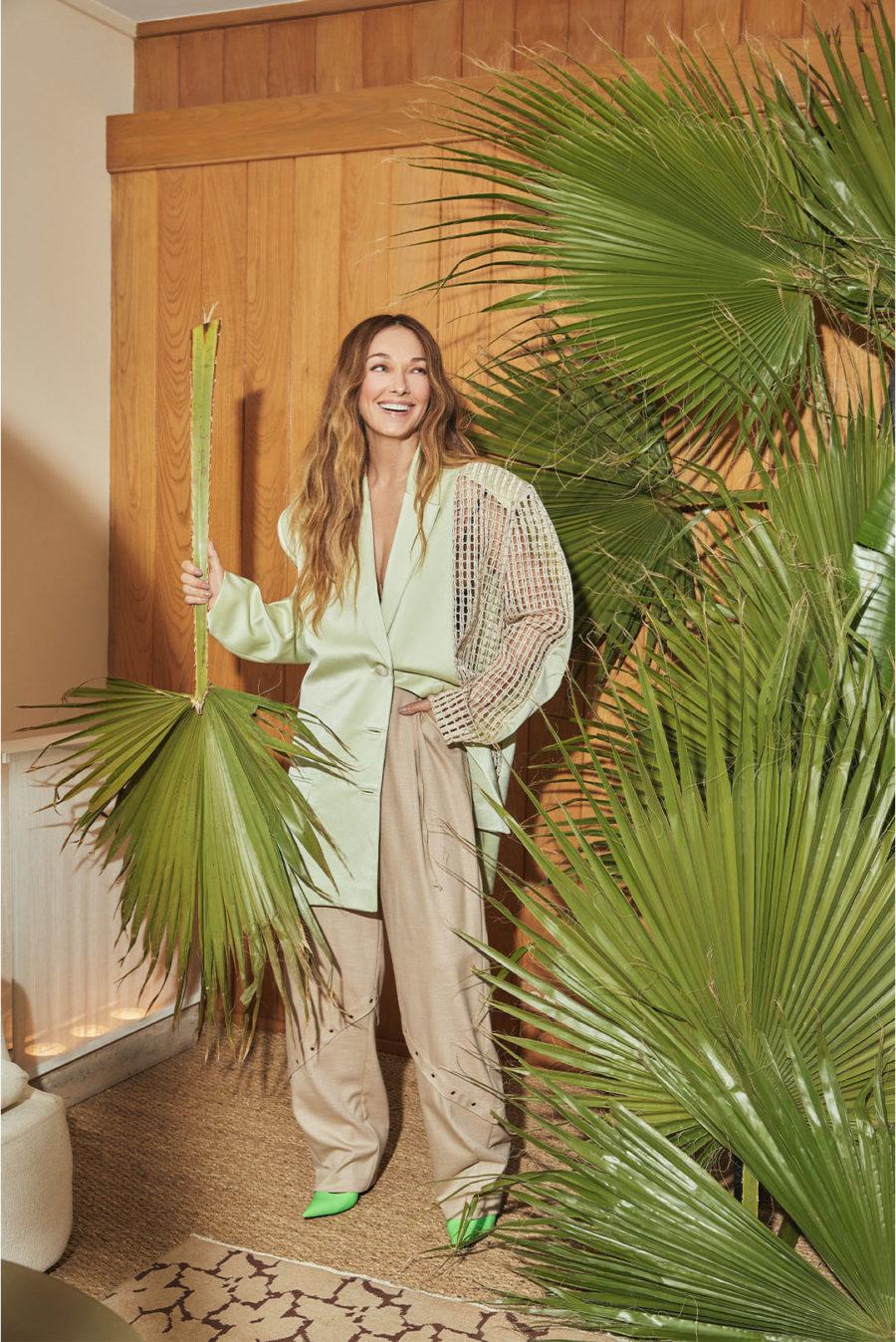 Photo of Kelly Wearstler infront of decor