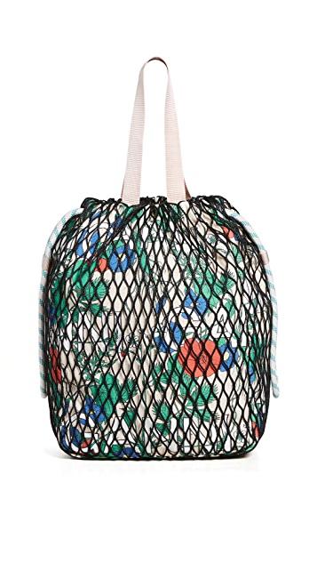 GANNI Fishnet Tote ($295)
