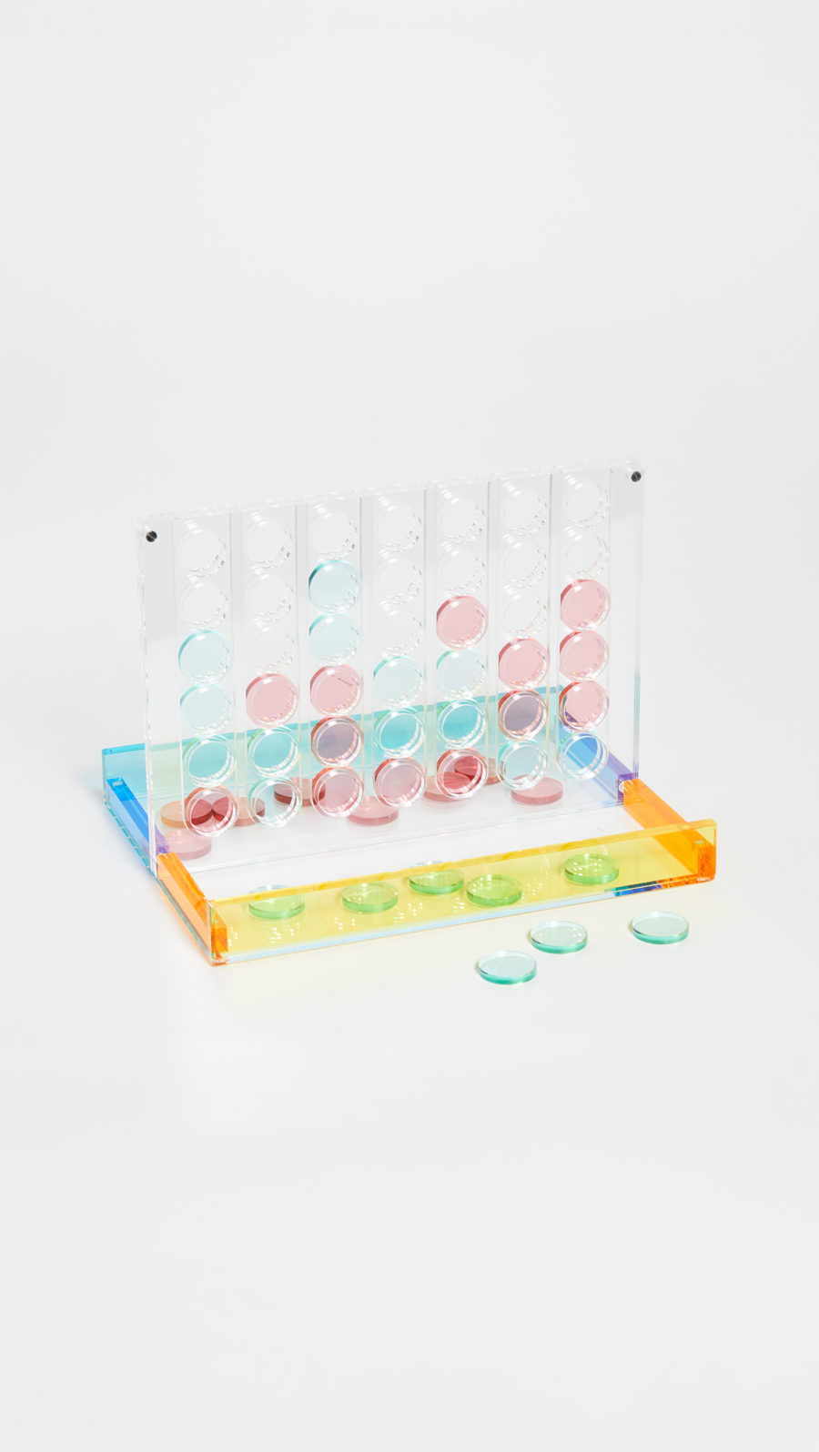 SunnyLife Lucite 4 In A Row ($130)