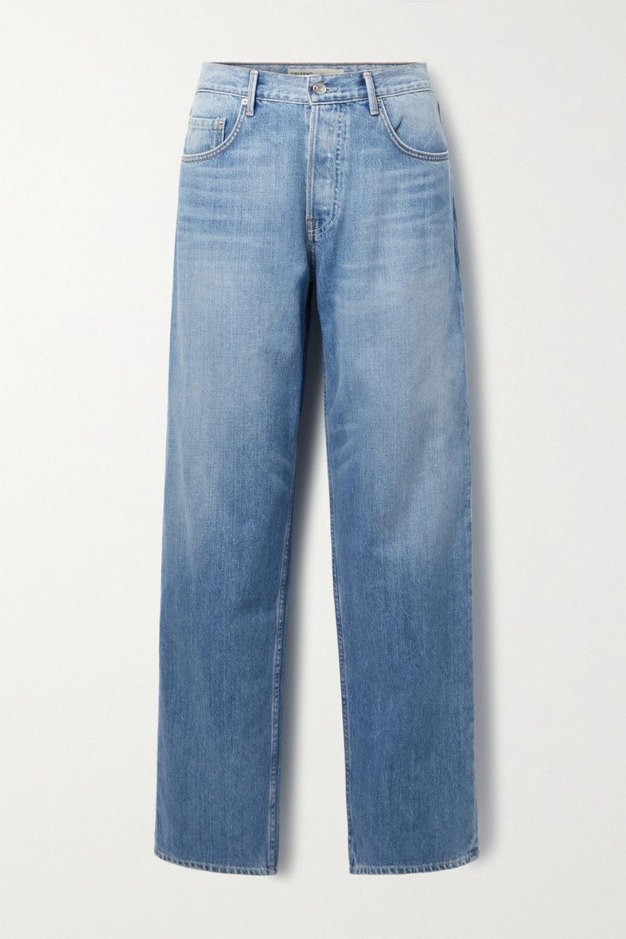 Grlfrnd Bella Low-Rise Straight-Leg Jeans ($225)