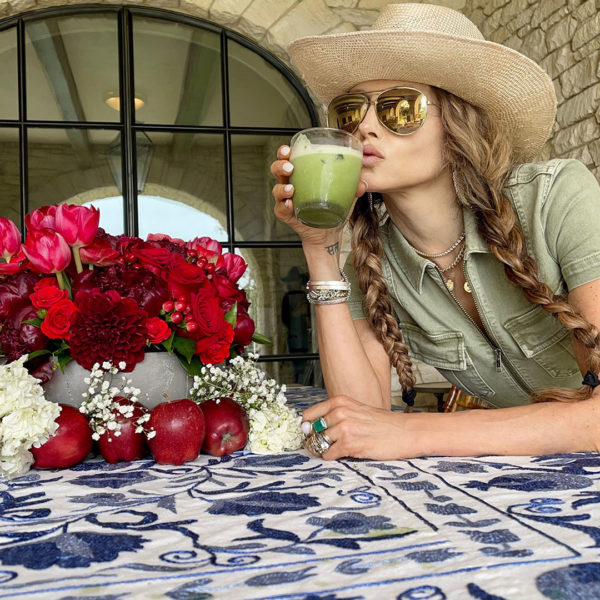 Stacey Bendet's Matcha Cocktail Cleanse