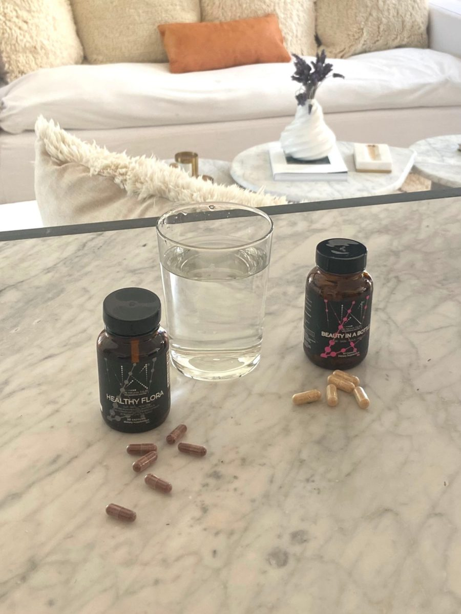 Supplements and water