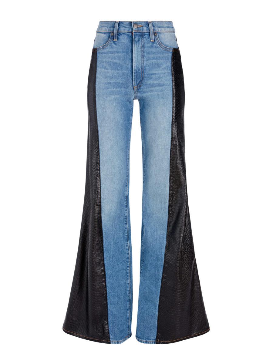 Max Vegan Leather Combo Pant ($158)