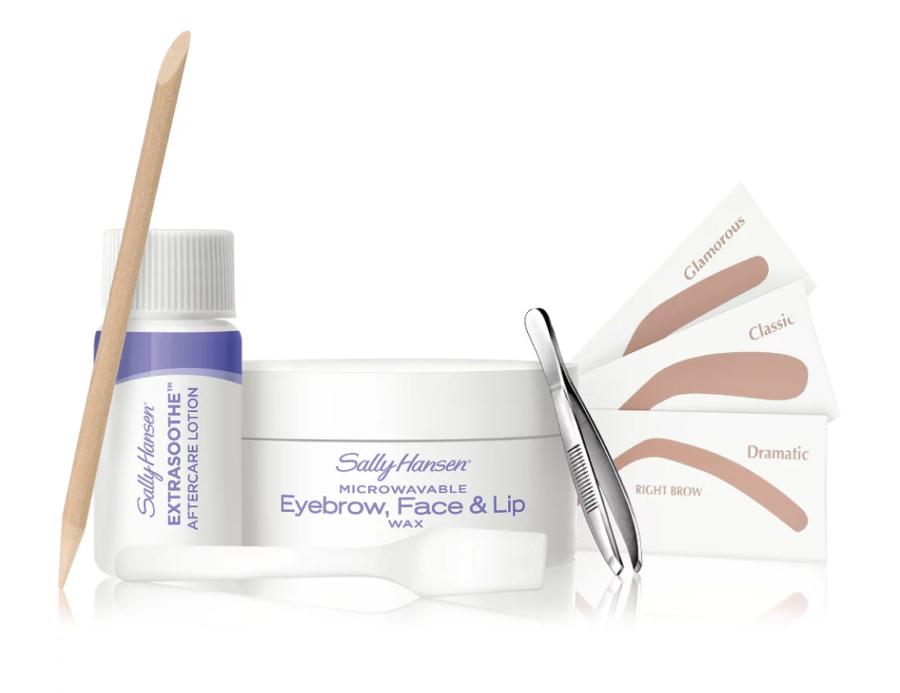 Microwavable Eyebrow, Face & Lip Wax Kit ($6)