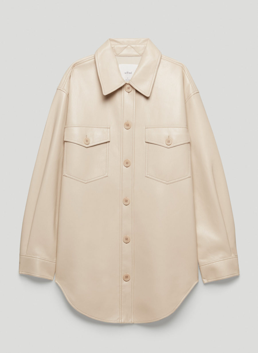 Wilfred The Ganna Shirt Jacket ($158)