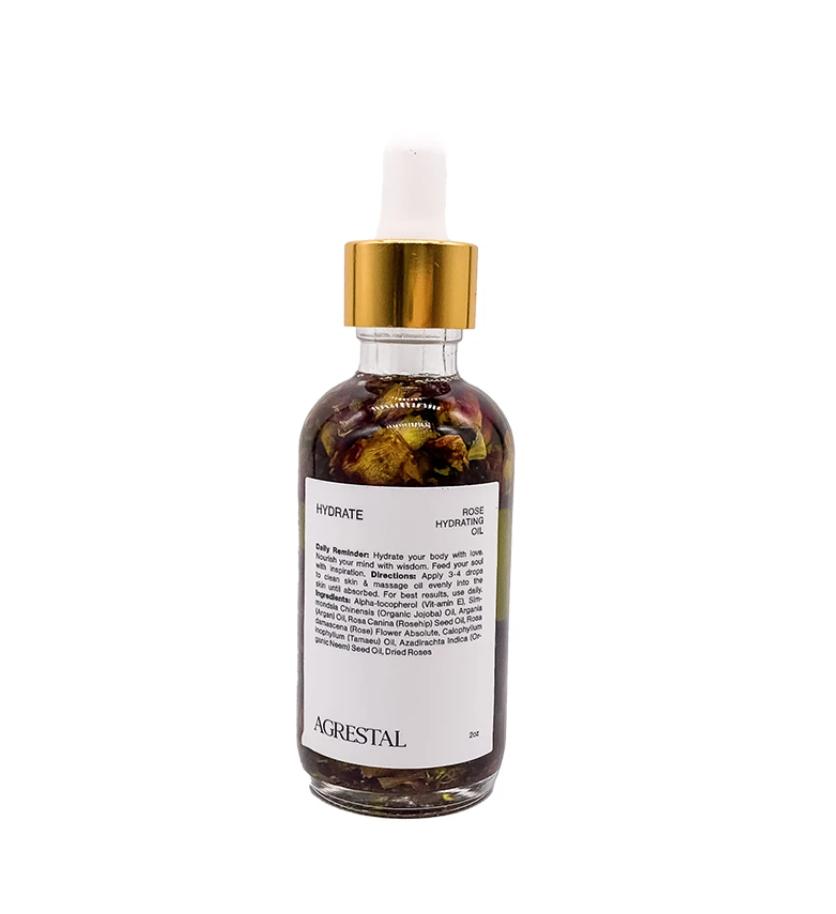 Agrestal Beauty Hydrate: Rose Hydrating Oil $70