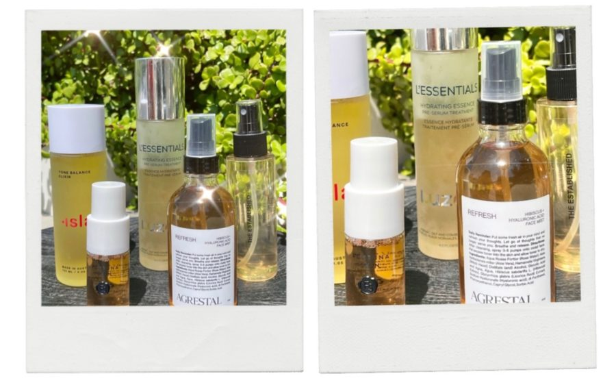 poosh skincare products photos of Essences, Elixirs, Toners, and Mists