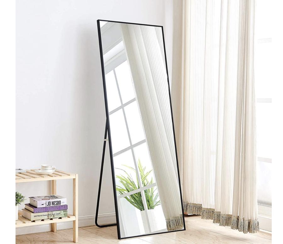 Aluminum Alloy Full Length Body Mirror $137