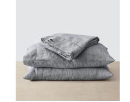The Citizenry Stone Washed Linen Sheet Set $230