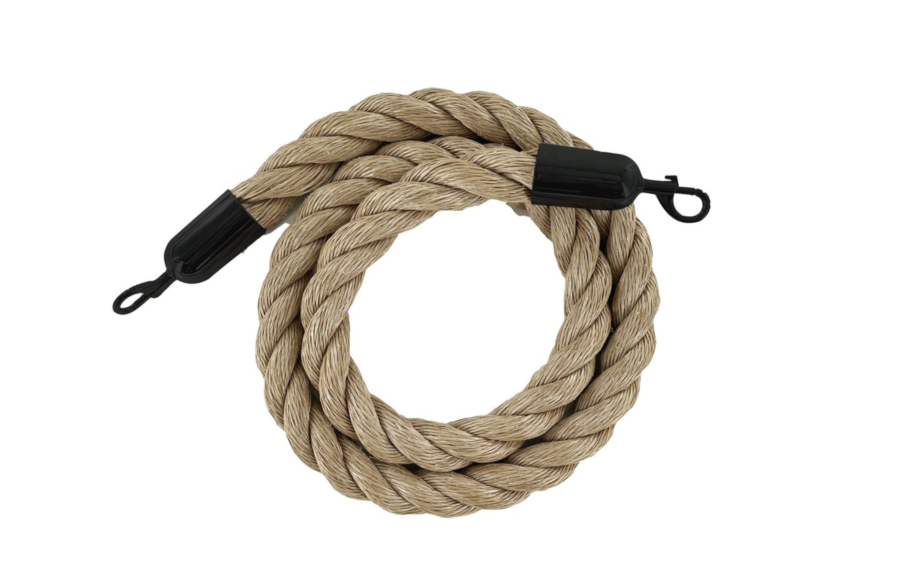 Crowd Control Warehouse Heavy-Duty Poly Hemp Ropes - Montour Line $46