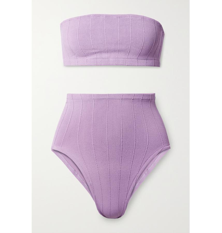 lavender net sustain hunza g bikini