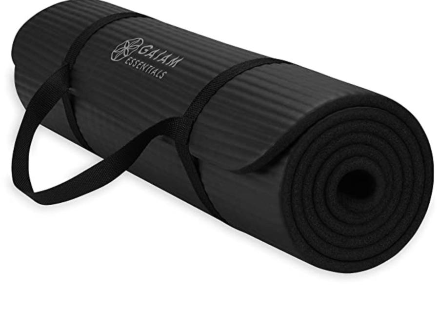Gaiam Essentials Yoga Mat $17
