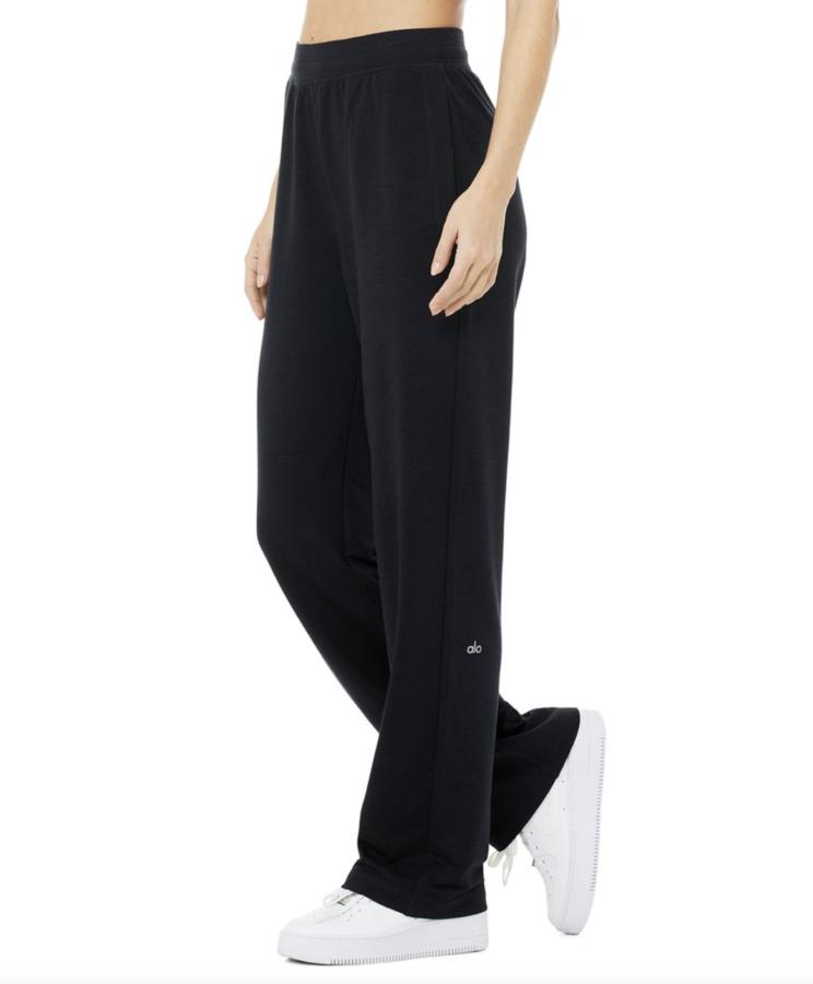 Alo Yoga HIGH-WAIST DREAMY WIDE LEGGING PANT $98