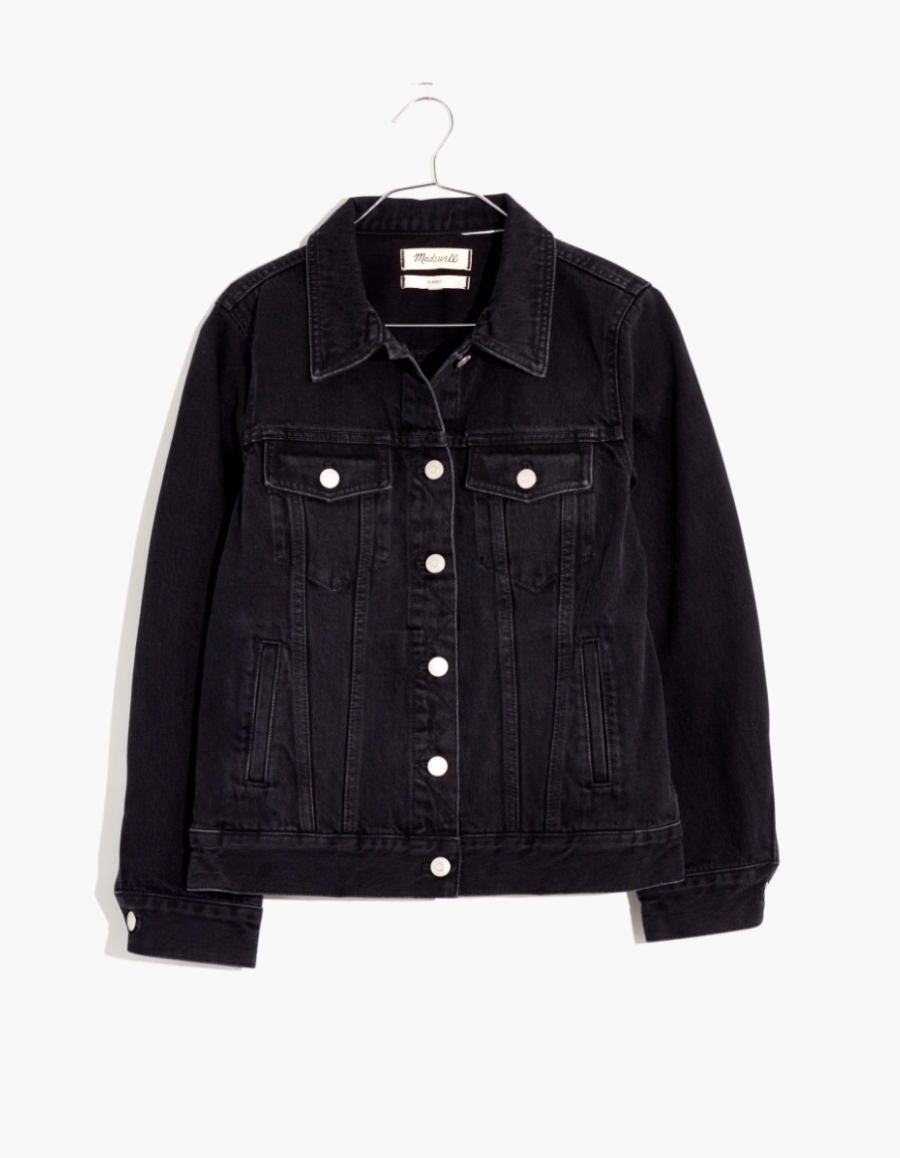 Madewell The Jean Jacket in Lunar Wash $118