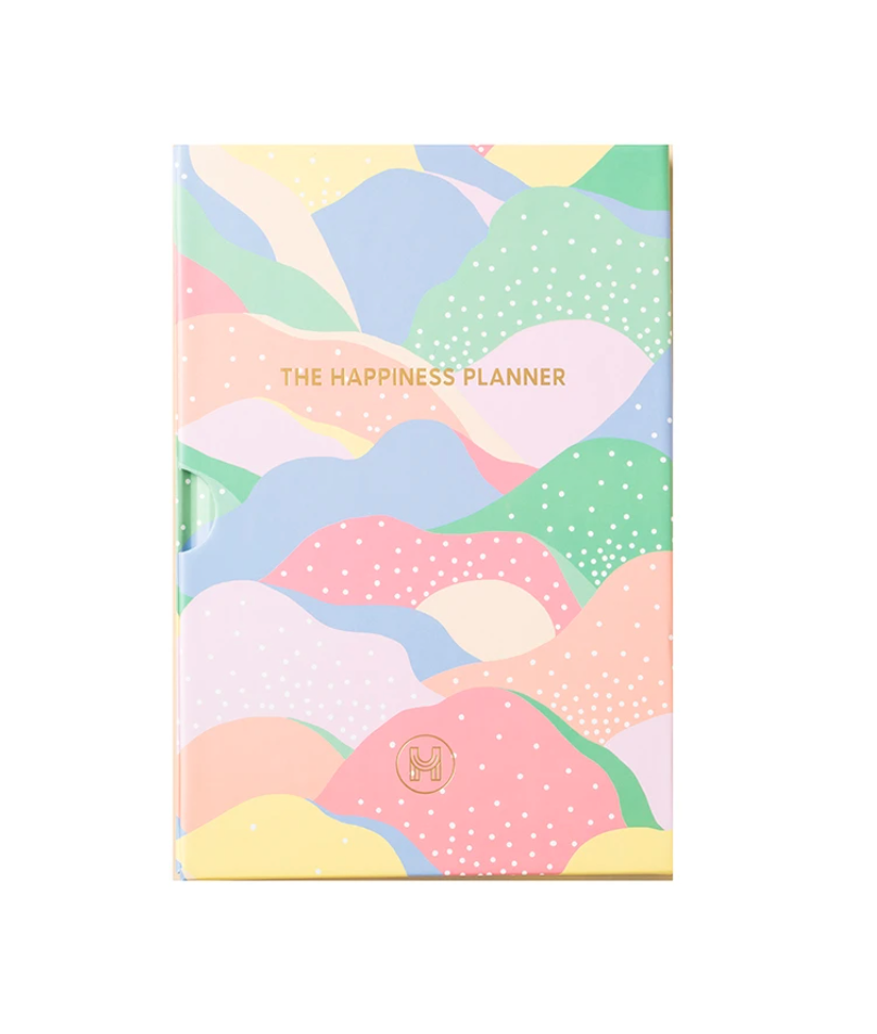 The Happiness Planner 100-Day Happiness Planner in Waves of Joy $26