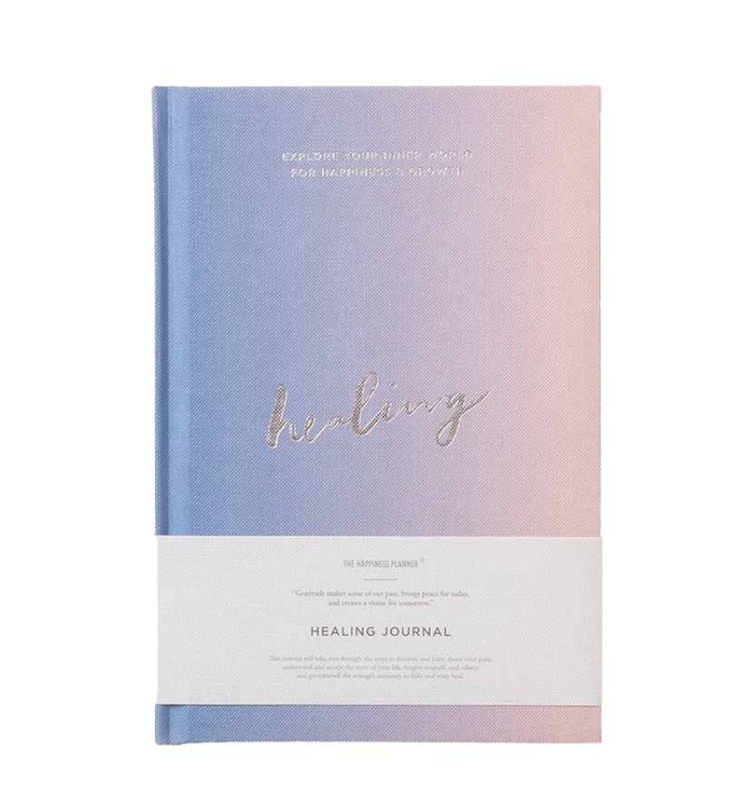 The Happiness Planner Healing Journal $20