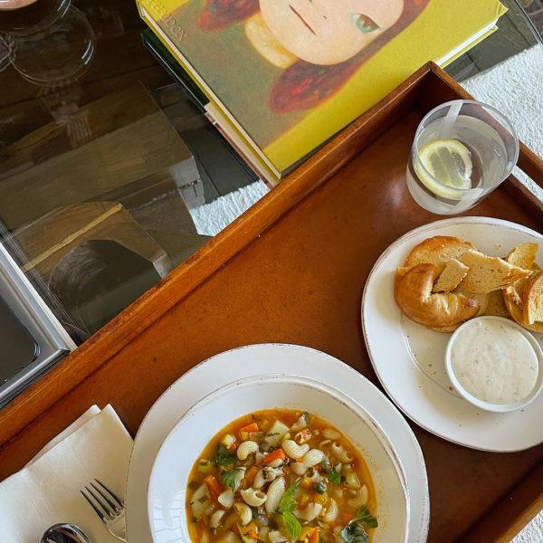 Kourt's Summer Vegan Soup Recipe