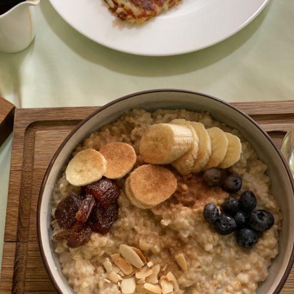 Kourt's New Oatmeal Recipe