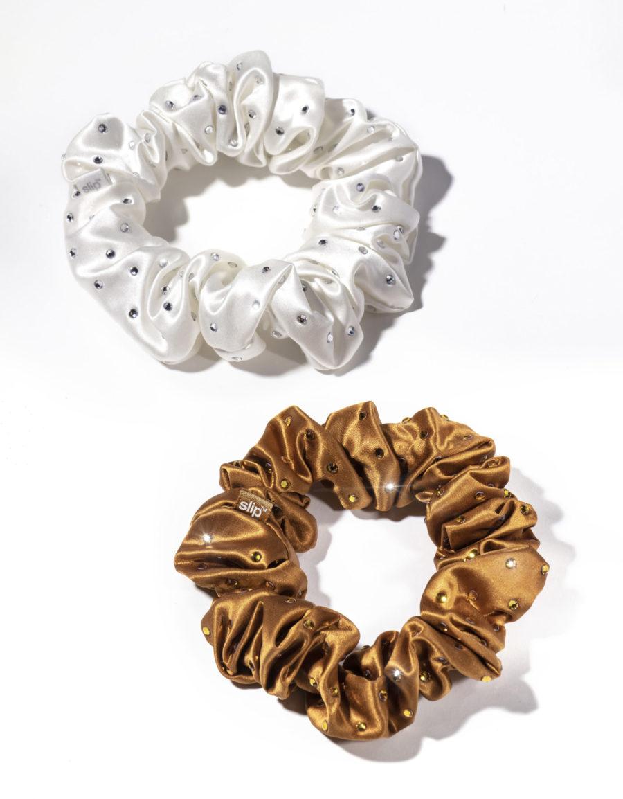 Slip Silk Scrunchies in Stardust Duo $45