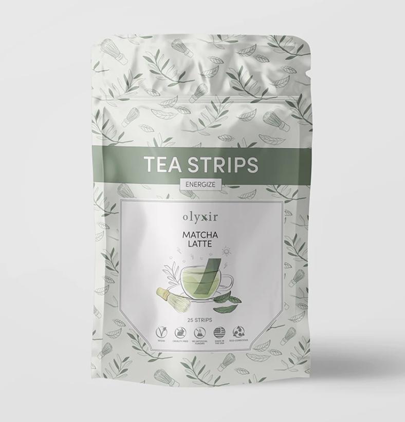 Olyxir Matcha Latte Tea Strips $20 (25 pack)
