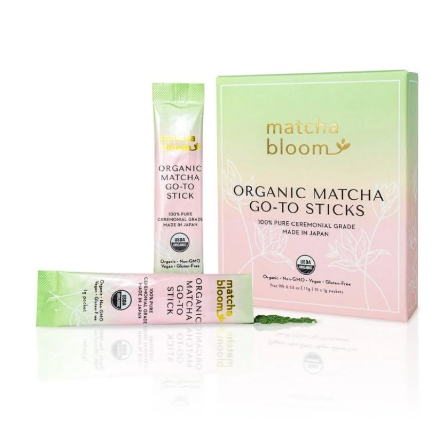 Matcha Bloom Go-to Sticks