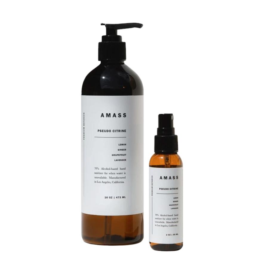 AMASS Pseudo Citrine Hand Sanitizer Set $45