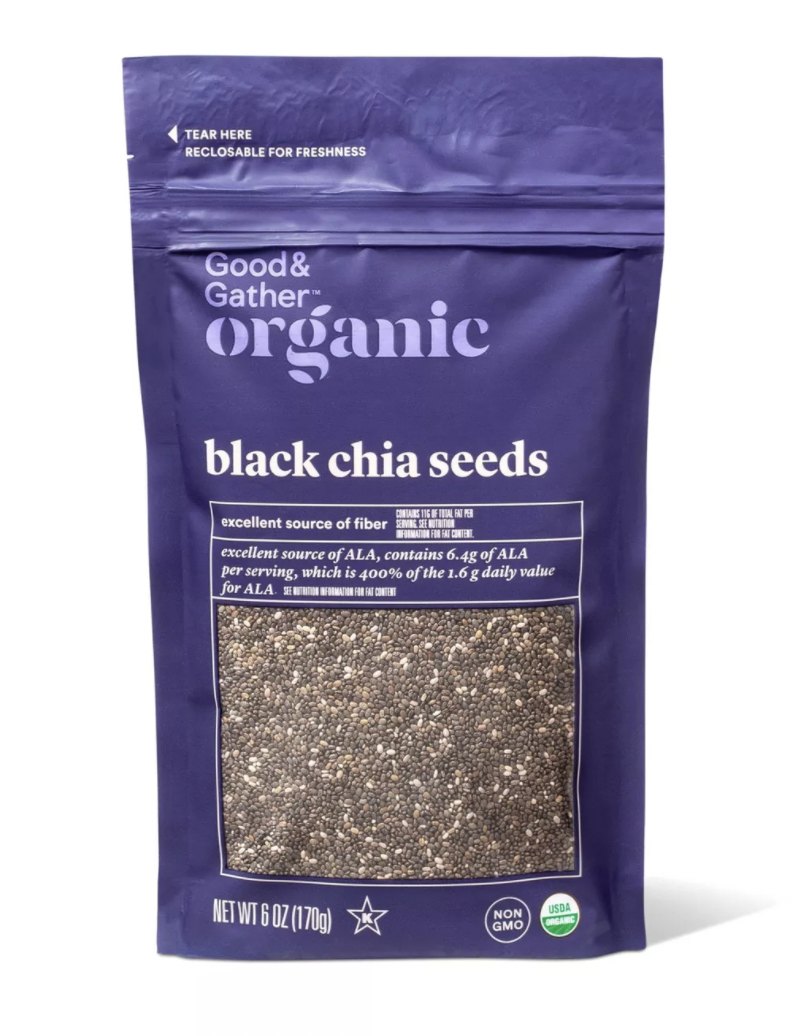 Good & Gather Organic Black Chia Seed - 6oz $6