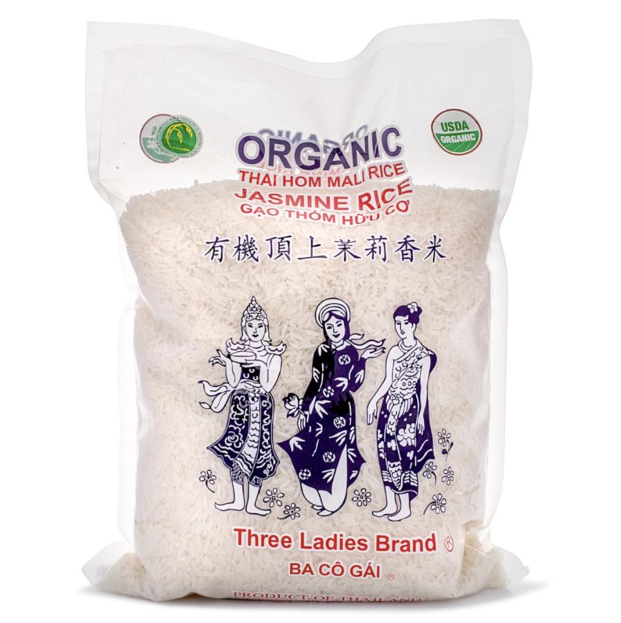 Three Ladies Brand Organic Jasmine Rice 5 lb $11