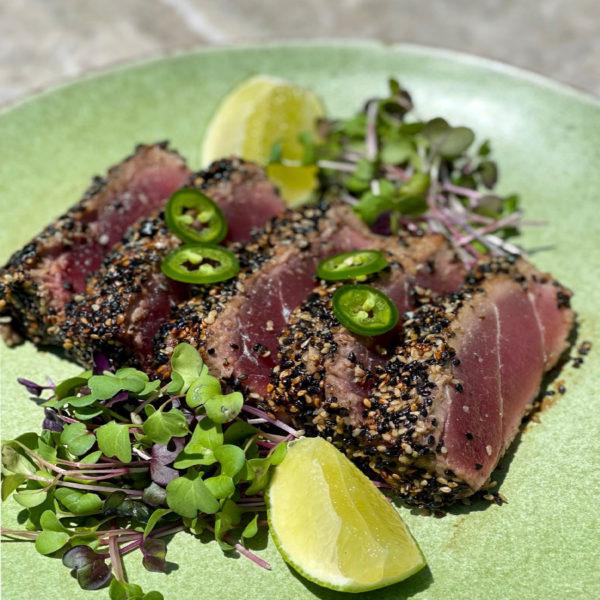 An Easy Seared Ahi Tuna Recipe