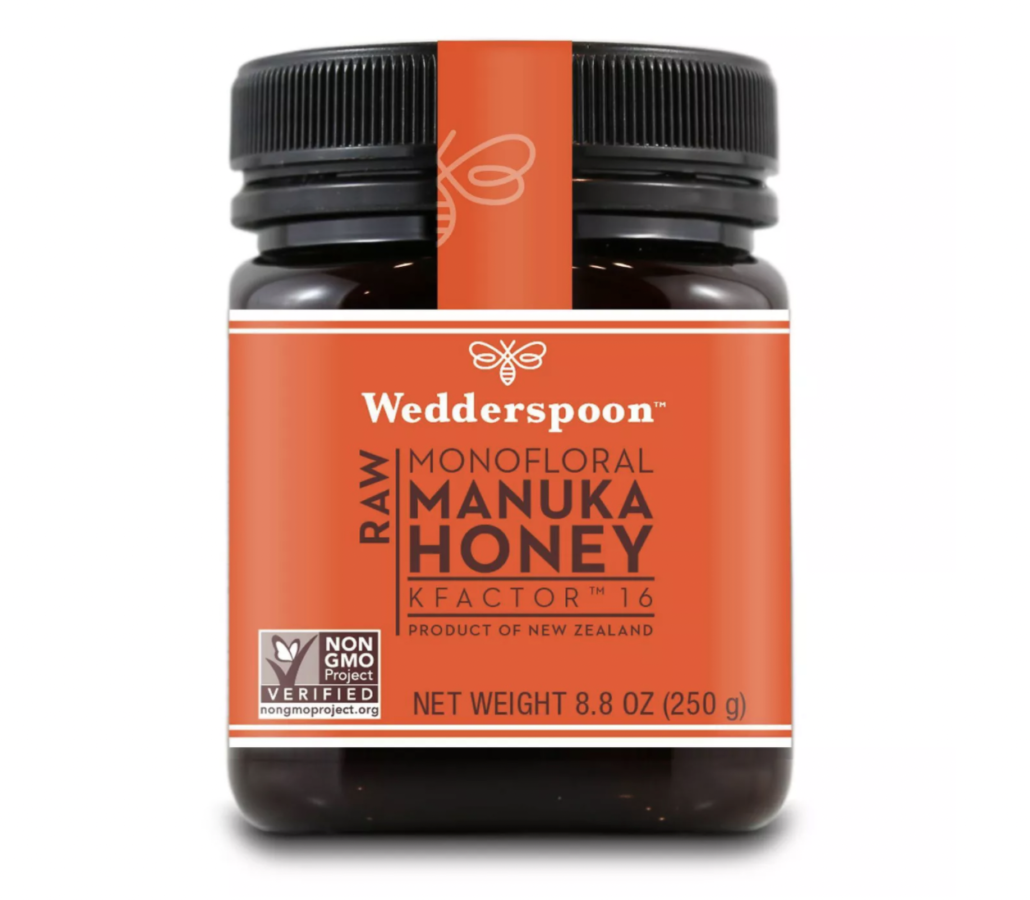  Wedderspoon Raw Monofloral Manuka Honey KFactor 16 - 8.8oz $28
