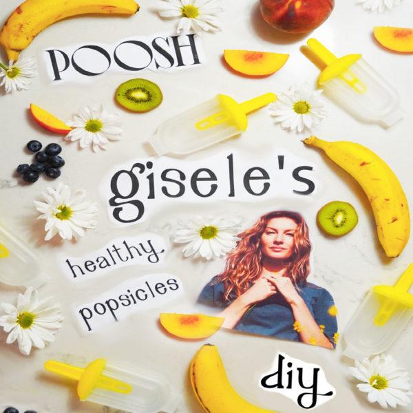 How to Make Gisele's Vegan Popsicles